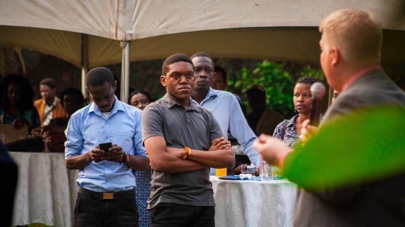 AFRICAN WRITERS' RECEPTION WITH NOVELIST, OKEY NDIBE (1)