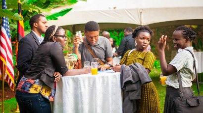 AFRICAN WRITERS' RECEPTION WITH NOVELIST, OKEY NDIBE (6)